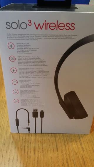 Beastssolo wirless auriculares
