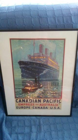 Cuadro Canadian Pacific