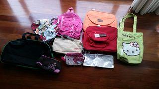 mochilas bolsos estuches