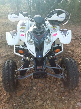 Quad Polaris predator 500 Troy lee