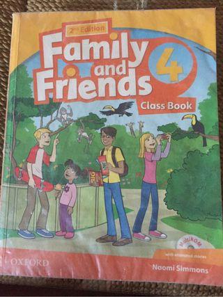 Libro 5 primaria. Ingles F&F
