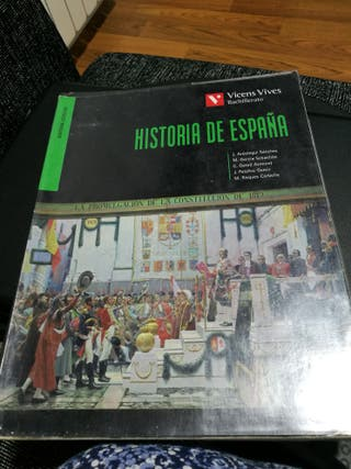 libro de historia de bachillerato