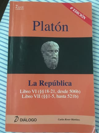 Libro Filosofía de Platón