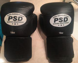 Equipo de Muay Thai. Boxeo. Boxing