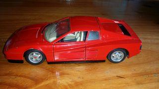 Maqueta Ferrari testarossa