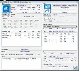 netbook Acer Aspire ONE D255E