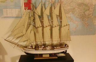Barco Maqueta Buque Escuela Juan Sebastian Elcano