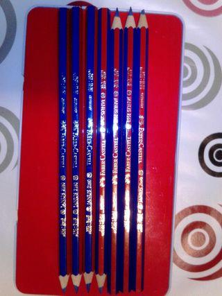 Lápiz bicolor Janus 2160 Faber-Castell (7unidades)