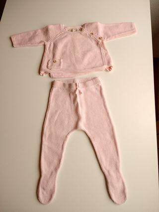 Conjunto bebé Zara 1-3 meses