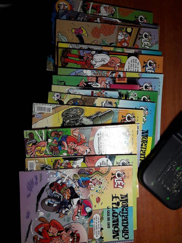 comics mortadelo y filemon