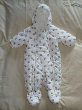 Buzo de invierno para bebé 0-3 meses