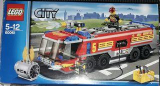 Camion de bomberos Lego.