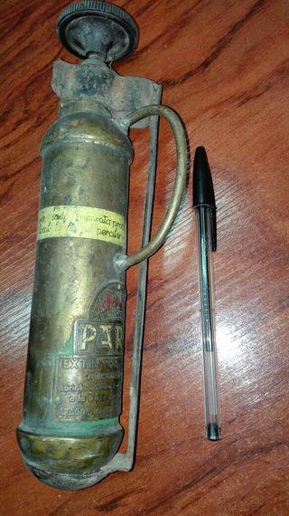Extintor Antiguo Parsi Liliput