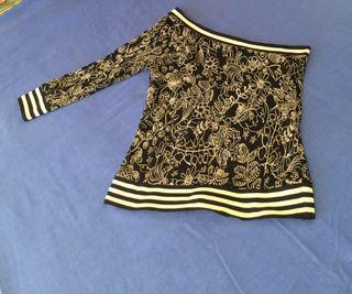 Falda y blusa de MANGO