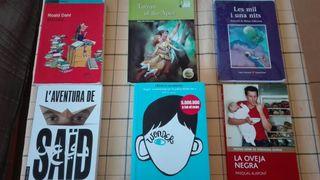 libros de lectura para instituto a 5€ cada uno