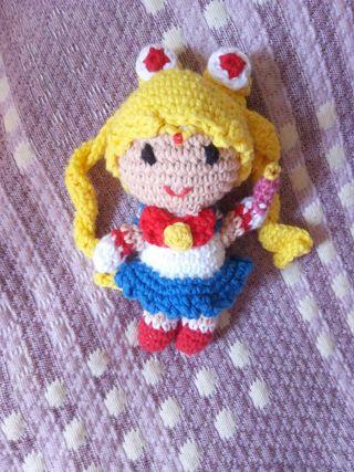 Muñeca sailormoon amigurumi