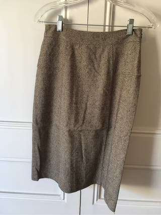 "Falda ""tweed"" marca Gap"
