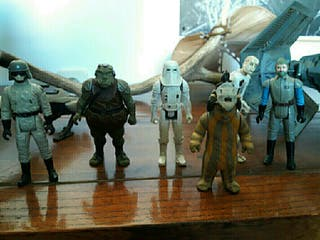 figuras star wars vintaje