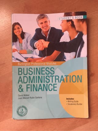 Business Administration & Finance, student's book
