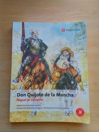 "Libro ""Don Quijote de la Mancha"""