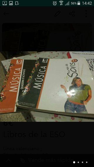 libros de musica de la ESO