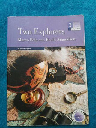 Libro de lectura Two Explorers 3°eso