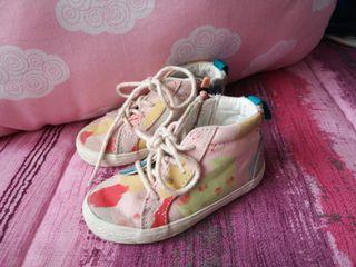 zapatillas bota talla 21 de zara