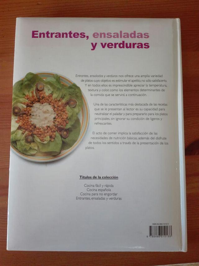 Libro ENSALADAS ENTRANTES Y VERDURAS