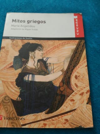 libro de lectura Mitos griegos