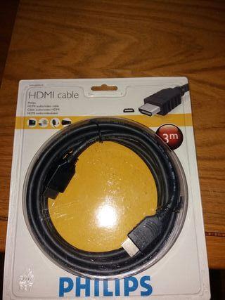 CABLE HDMI PHILIPS DE 3 METROS NUEVO