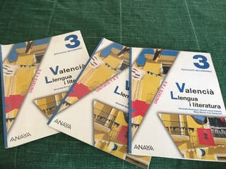 Libro Valencià 3º ESO