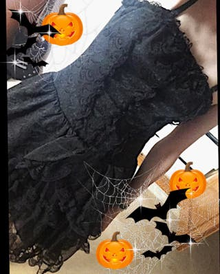 Vestido gótico encaje halloween