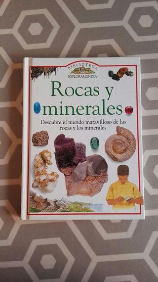 Libro infantil sobre minerales.