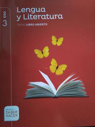 libro Lengua y Literatura 3º eso