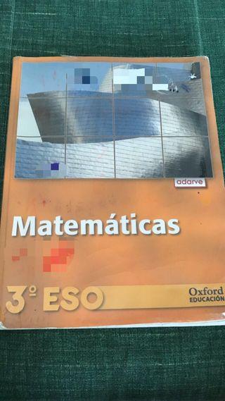 Libro MATEMATICAS 3º ESO