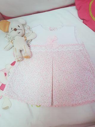 vestido talla 9 meses