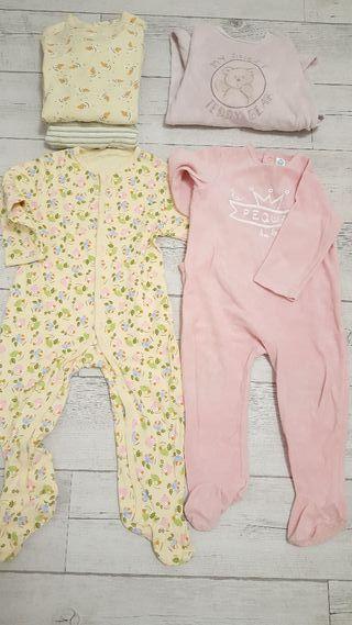5 Pijamas enterizo de 18 a 24 meses