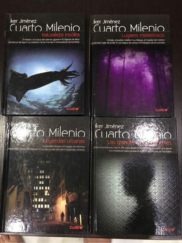 4 Libros dvd. Cuarto milenio de segunda mano por 9,9 € en Cádiz en ...
