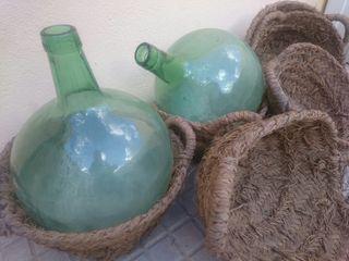 garrafas decoración