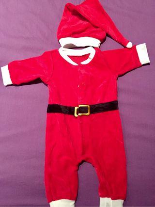 Conjunto Papa Noel bebé