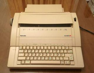 Máquina de escribir electrónica Olympia