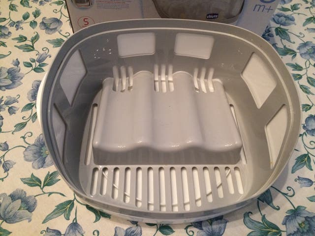 Esterilizador para microondas