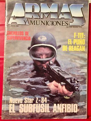 NUMERO 1, ARMAS Y MUNICIONES