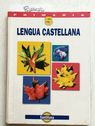 Lengua castellana 5 primaria