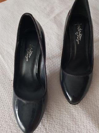 zapato negro chsarol talla 37