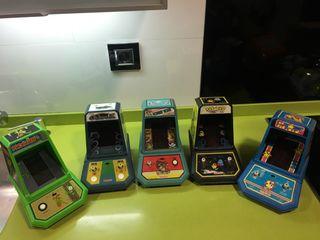 Tabletops Nintendo,sega,Pc,Xbox,juegos electrónicos,tipo game watch de coleco,maquinita,
