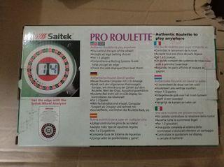 Juego Roulette portatil