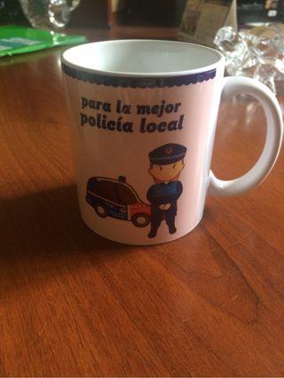 Taza policia local