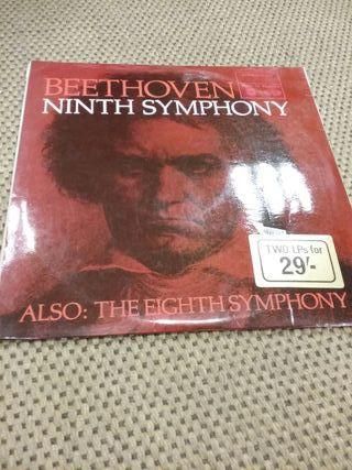 Disco de vinilo ' Beethoven'