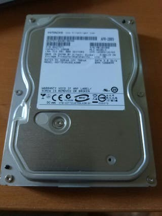 """Disco duro sata 160GB 3,5"""" 7200rpm"""
